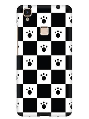 Paw Checkers Mobile Cover for Vivo V3 Max