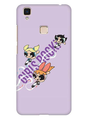 Girls Rocks Mobile Cover for Vivo V3 Max