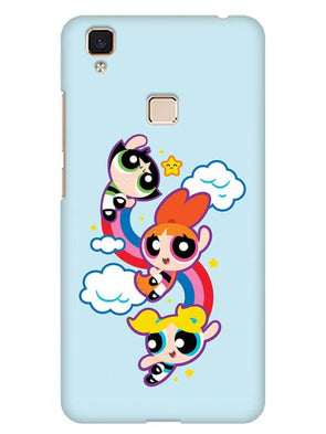 Girls Fun Mobile Cover for Vivo V3 Max