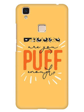 Are You Puff Enough Mobile Cover for Vivo V3 Max