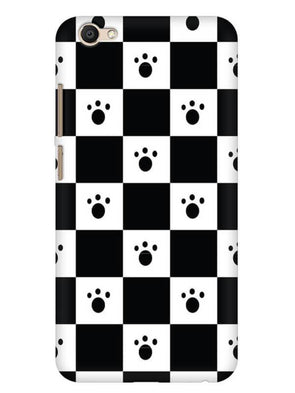 Paw Checkers Mobile Cover for Vivo V5