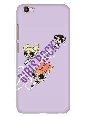Girls Rocks Mobile Cover for Vivo V5