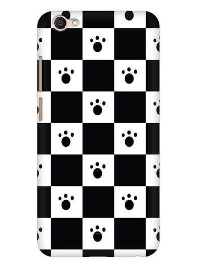 Paw Checkers Mobile Cover for Vivo V5 Plus