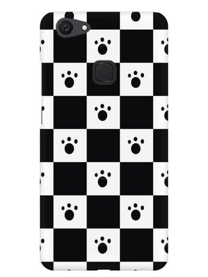 Paw Checkers Mobile Cover for Vivo V7