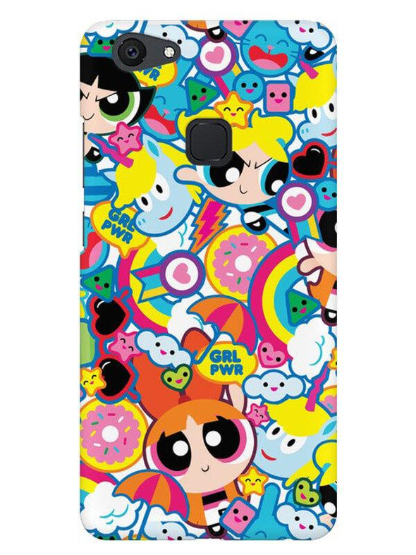 Girl Power Mobile Cover for Vivo V7