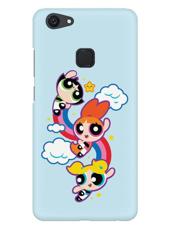 Girls Fun Mobile Cover for Vivo V7