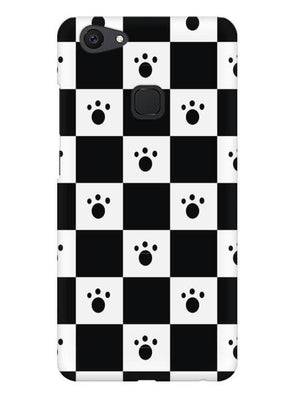 Paw Checkers Mobile Cover for Vivo V7 Plus
