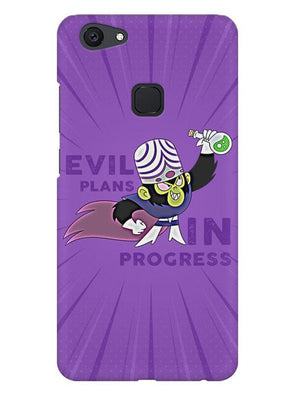 Evil Plan Mojojojo Mobile Cover for Vivo V7 Plus