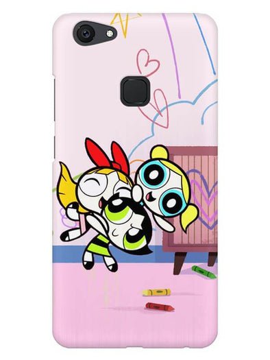 Powerpuff Girls Mobile Cover for Vivo V7 Plus