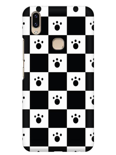 Paw Checkers Mobile Cover for Vivo V9