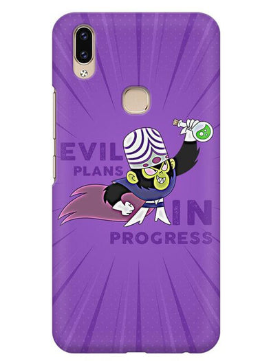 Evil Plan Mojojojo Mobile Cover for Vivo V9