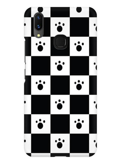 Paw Checkers Mobile Cover for Vivo X21