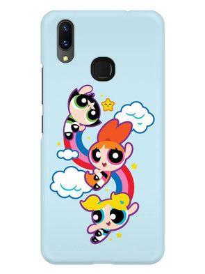 Girls Fun Mobile Cover for Vivo X21