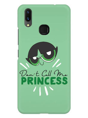 Don't Call Me Princess Mobile Cover for Vivo X21