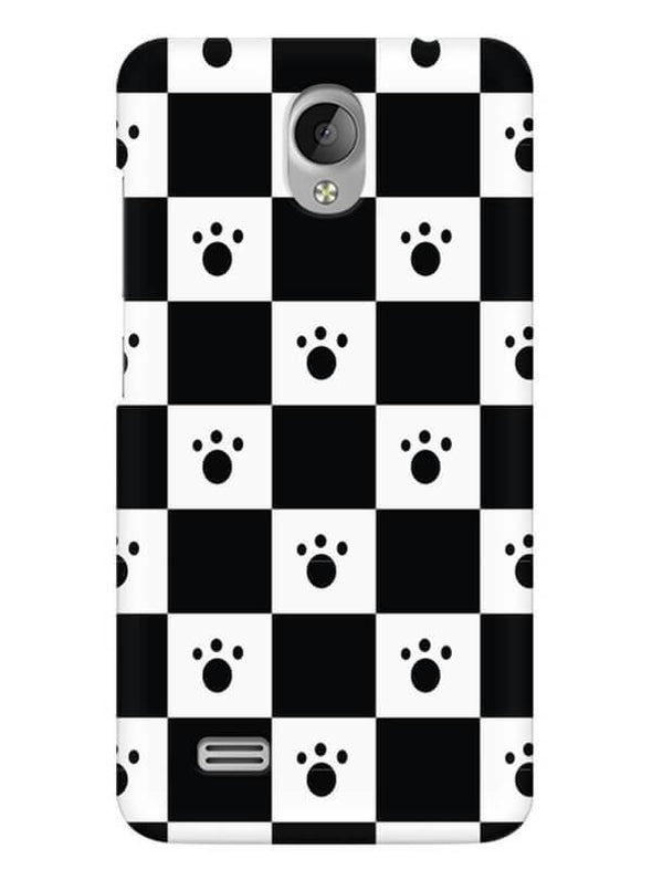 Paw Checkers Mobile Cover for Vivo Y21L