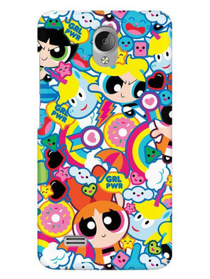 Girl Power Mobile Cover for Vivo Y21L