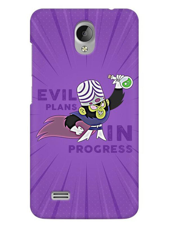 Evil Plan Mojojojo Mobile Cover for Vivo Y21L