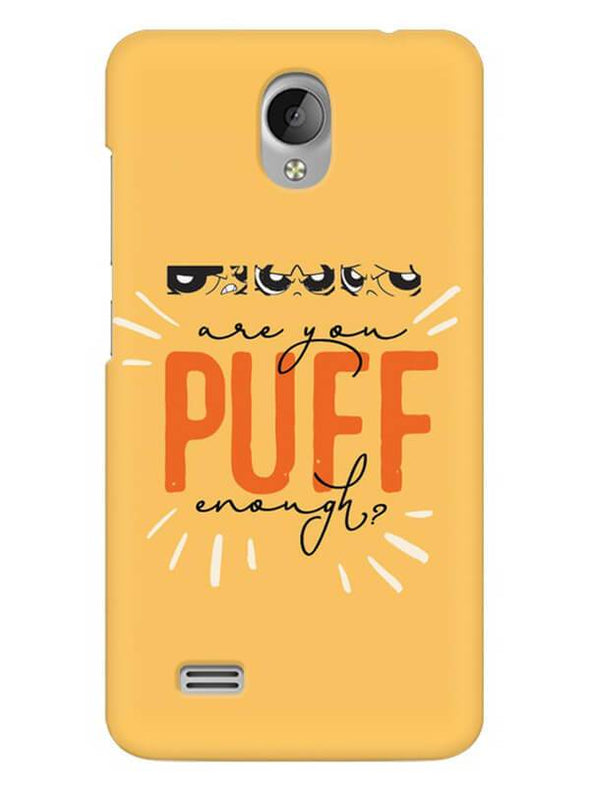 Are You Puff Enough Mobile Cover for Vivo Y21L