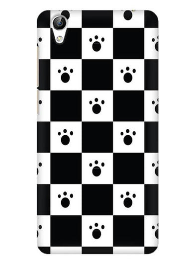 Paw Checkers Mobile Cover for Vivo Y51L