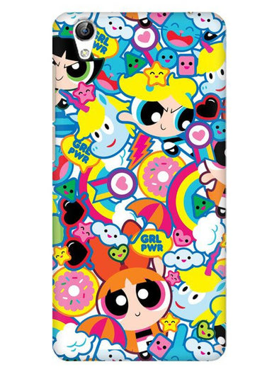 Girl Power Mobile Cover for Vivo Y51L