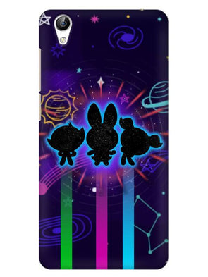 Glow Girls Mobile Cover for Vivo Y51L