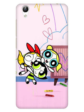 Powerpuff Girls Mobile Cover for Vivo Y51L