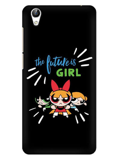 Future Is Girls Mobile Cover for Vivo Y51L