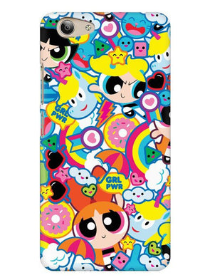 Girl Power Mobile Cover for Vivo Y53