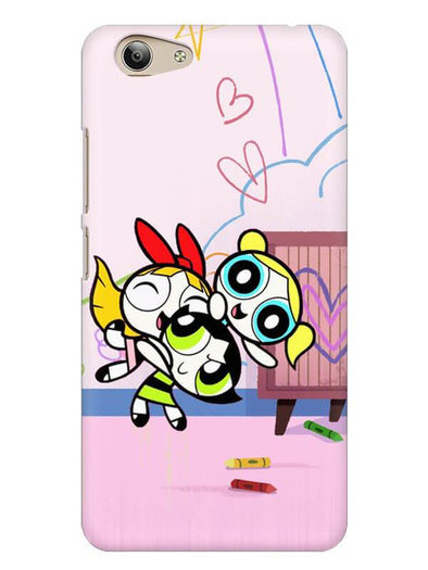 Powerpuff Girls Mobile Cover for Vivo Y53