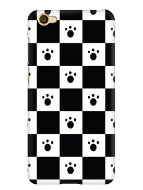 Paw Checkers Mobile Cover for Vivo Y66