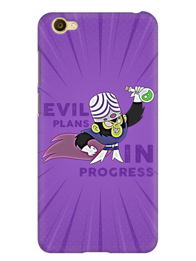 Evil Plan Mojojojo Mobile Cover for Vivo Y66