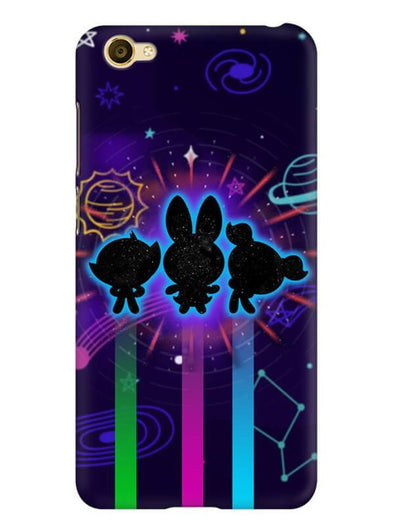 Glow Girls Mobile Cover for Vivo Y66