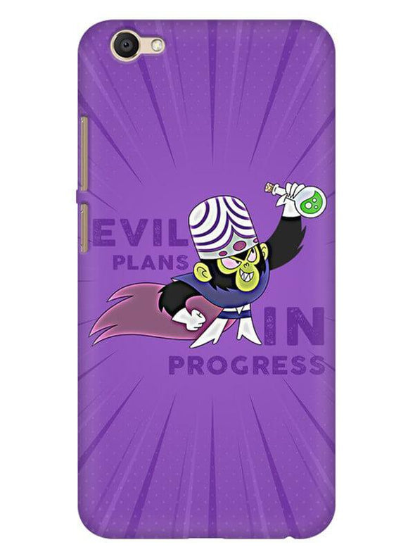 Evil Plan Mojojojo Mobile Cover for Vivo Y69