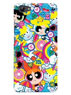 Girl Power Mobile Cover for Vivo Y71