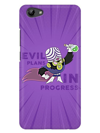 Evil Plan Mojojojo Mobile Cover for Vivo Y71
