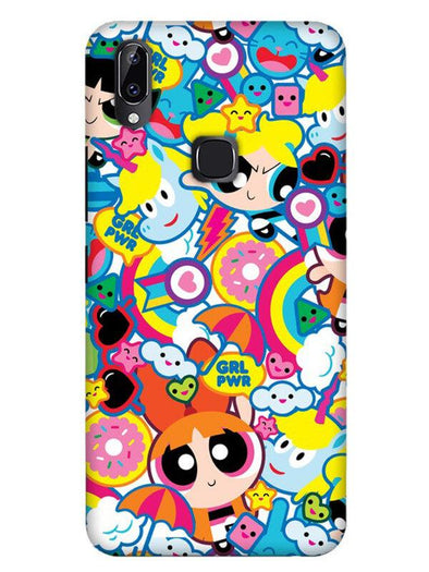 Girl Power Mobile Cover for Vivo Y83 pro