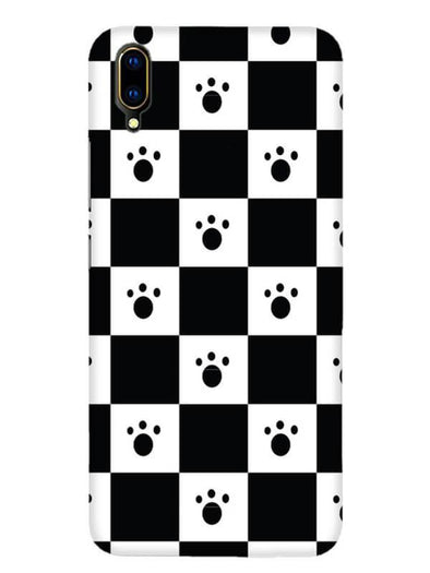 Paw Checkers Mobile Cover for Vivo Y97