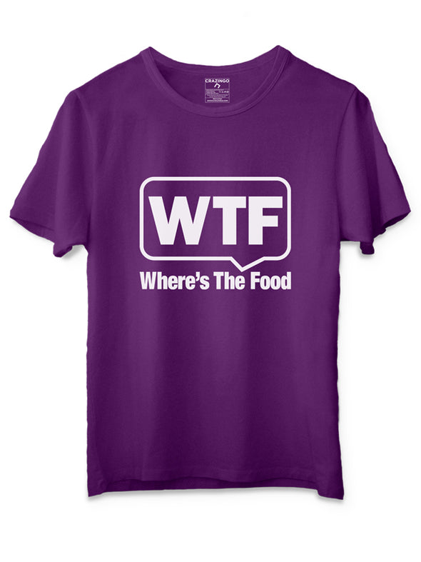 WTF Purple T-Shirts