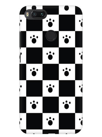 Paw Checkers Mobile Cover for Xiaomi Mi A1