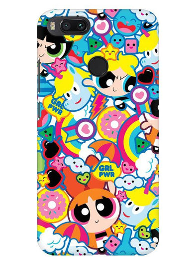 Girl Power Mobile Cover for Xiaomi Mi A1