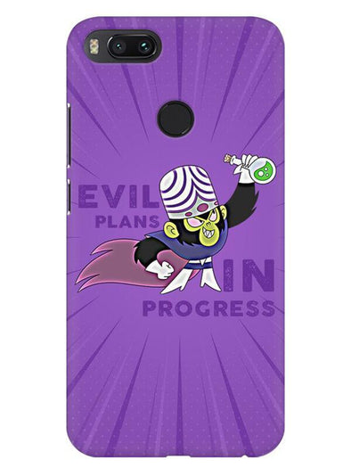 Evil Plan Mojojojo Mobile Cover for Xiaomi Mi A1