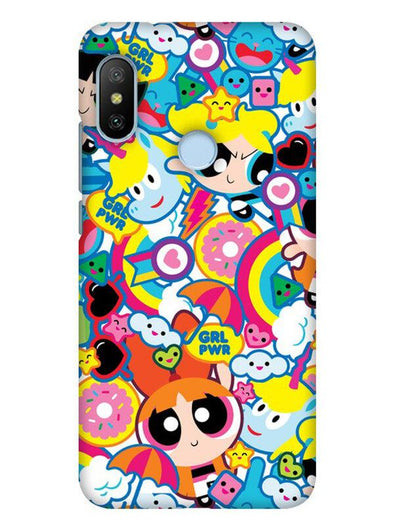 Girl Power Mobile Cover for Xiaomi Mi A2