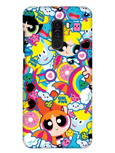 Girl Power Mobile Cover for Xiaomi POCO F1