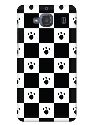 Paw Checkers Mobile Cover for Xiaomi Redmi 2s