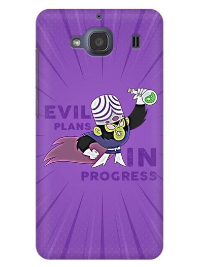 Evil Plan Mojojojo Mobile Cover for Xiaomi Redmi 2s