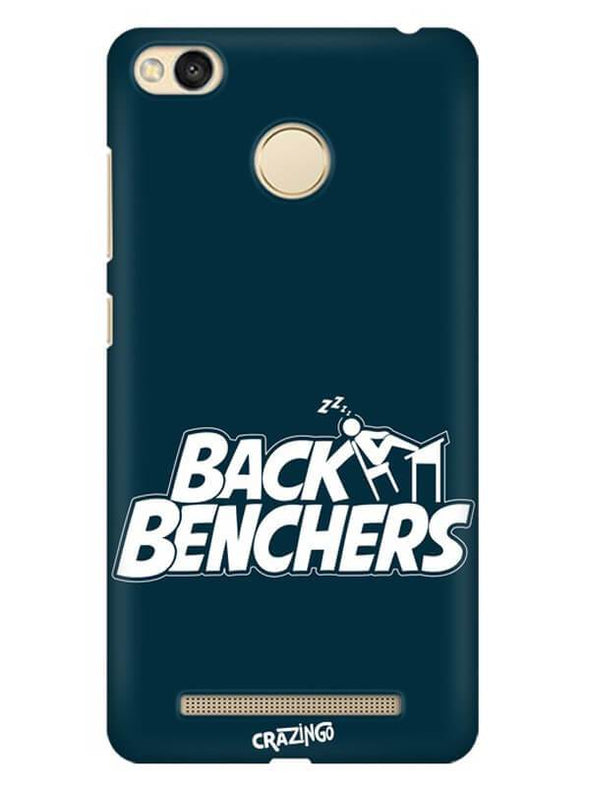 Back Benchers Mobile Cover for Xiaomi Redmi 3S Prime