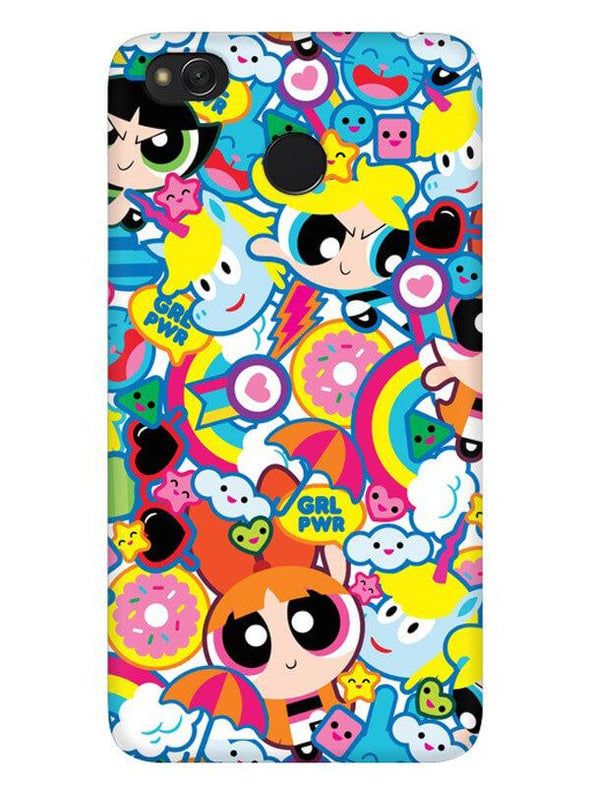 Girl Power Mobile Cover for Xiaomi Redmi 4