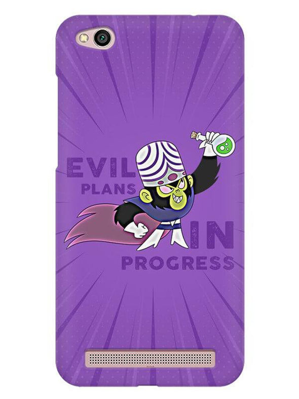 Evil Plan Mojojojo Mobile Cover for Xiaomi Redmi 5A