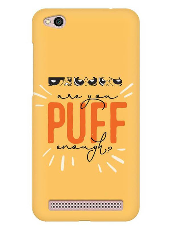 Are You Puff Enough Mobile Cover for Xiaomi Redmi 5A