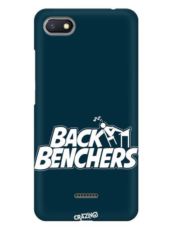 Back Benchers Mobile Cover for Xiaomi Redmi 6A